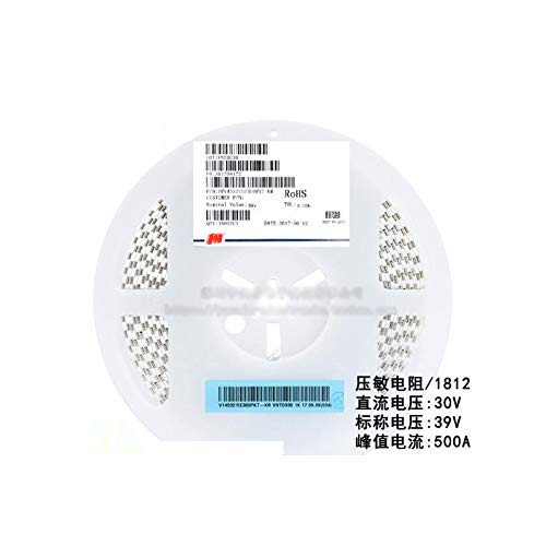 MAO YEYE 20pcs//lot SMD 1812 Voltage Dependent Resistor VDR DC 30V Nominal Voltage 42V FPV453215E300PKT Varistor Resistor