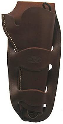 "B000KORAG8 HUNTER 1080 Double Loop Holster Colt Single Action Army, Ruger Old Army, Blackhawk, Vaquero 4.75"" to 5.5"" Barrel Leather Antique Brown 41bbH2Bhct0L"