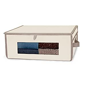 Pro-Mart DAZZ Large Magnetic Storage Box with American Aromatic Cedar, Natural Canvas