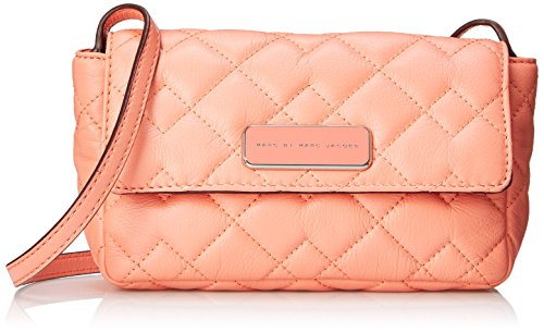 Marc Quilted Marc by Peach Leather Bag Small Cross Body Jacobs Spring 1r1UH