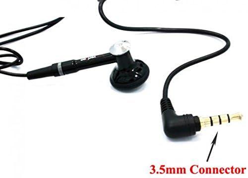 Low Cost Mono Headset Wired Earphone for Go Flip 3 / Smartflip Phone, Handsfree Mic 3.5mm Headphone Single Earbud in-Ear Compatible with Alcatel Go Flip 3 / Smartflip  OZi1e7u