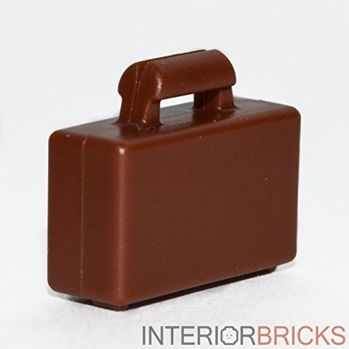 LEGO Minifigure Briefcase in Reddish Brown (Official Part)
