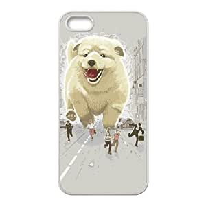 iPhone 5 5s Cell Phone Case White Attack of the cutest monster TNE Harley Davidson Phone Case