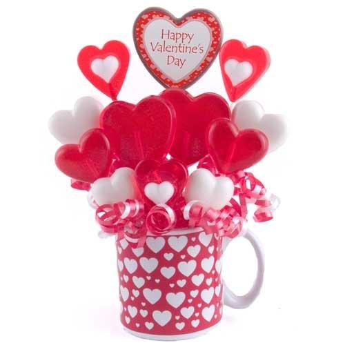 (Lollipop Bouquet - Personalized Hearts & Hugs)