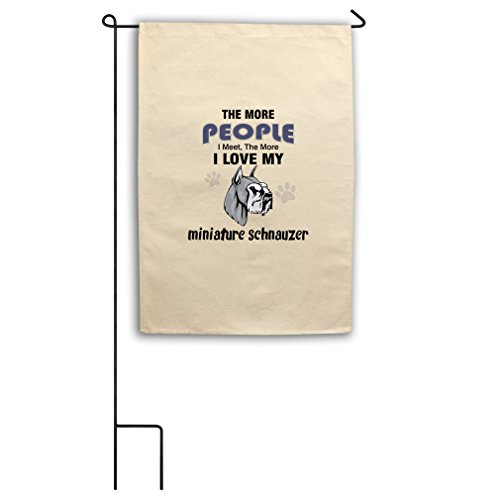 "Style in Print Canvas Yard Flag 18""X27"" More People Meet Min"