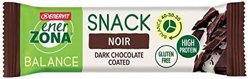 Enerzona Snack 40-30-30 Confezione da 30 Barrette Gusto: NOIR