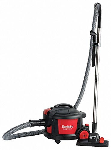 Sanitaire Canister Hepa Vacuums - 1 gal. Industrial Series Canister Vacuum, 68 cfm, 9 Amps, HEPA Filter Type