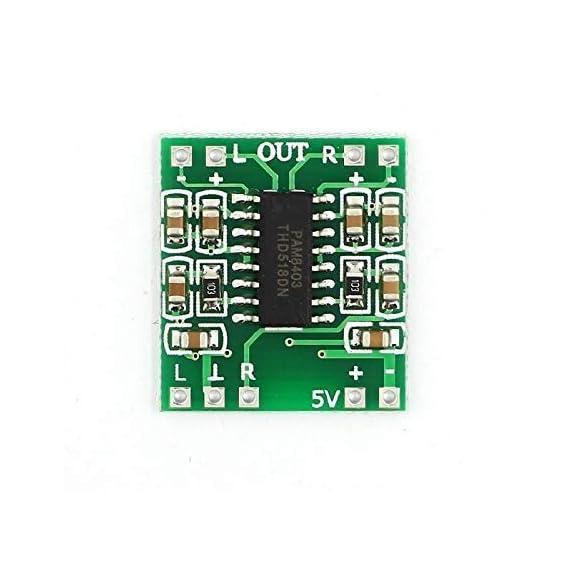 eHUB PAM8403 3W+3W Dual Channel Mini Digital Stereo Power Amplifier Board (PAM8403)