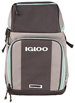 Igloo 00062897 Marine Backpack, Gray Seafoam