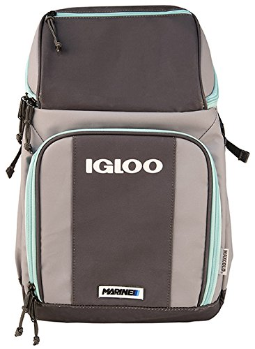 Igloo 00062897 Marine Backpack, Gray Seafoam