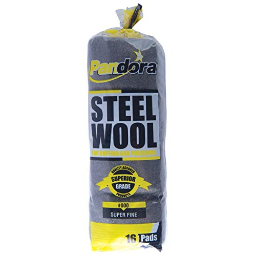- Pandora Steel Wool #000 (Super Fine) - 16 Pack