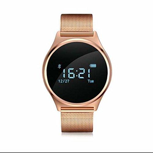 Bluetooth 4.0 Reloj, pulsera inteligente, actividad ...