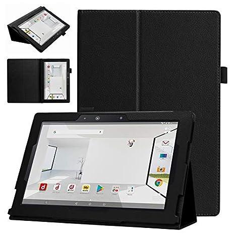 3ea61c0551 Amazon | windykids ASUS ZenPad 10 Z301MFL ケース Z301M カバー 黒 3点セット 保護フィルム  タッチペン スタンドケース | windykids | タブレットケース 通販