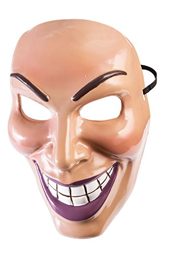 Forum Novelties Male Evil Grin Mask-Standard ()