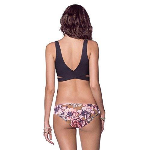 Zhrui Woman Bikini Suit fashion coloré De S Taille S Bain Bikini Maillot rEnwExapYq