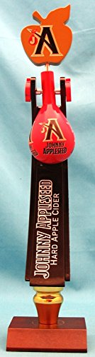 Johnny Appleseed Hard Apple Cider Hobo Pack 13in Tap Handle w Display Stand ()
