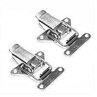 2 Stück Mini Edelstahl Hebelverschluß V2A Spannverschluss Kistenverschluss