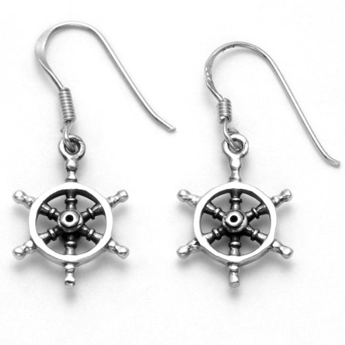 Stainless Steel Nautical Ship's Wheel Wire ()