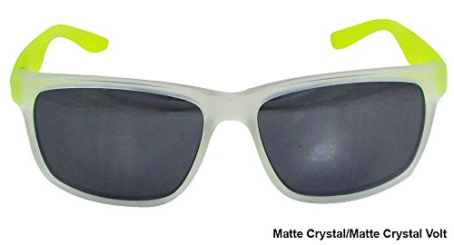 Nike Grey with Mild Silver Flash Lens Cruiser R Sunglasses, Matte Crystal/Matte Crystal - R&d Sunglasses