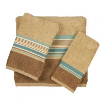 Seersucker-Bathroom-Shower-Collection-Set-of-2-Hand-Towels