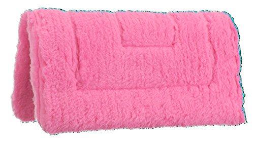 (Tough 1 Miniature Western Fleece Pad, Pink)