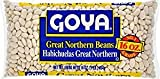 Goya Great Northern Beans Habichuelas 16 Oz. Pack Of 3.