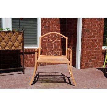 GCD-Austram Patio Arm Chair, 30-Inch, Mustard Yellow