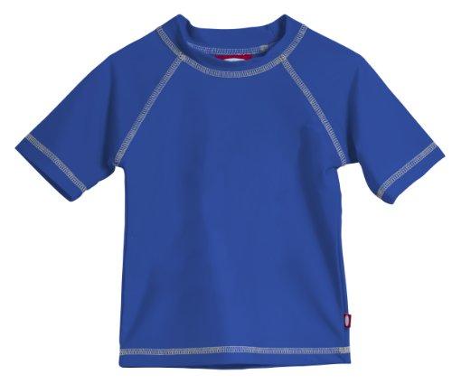- Little Boys' and Girls' Solid Rashguard Swimming Tee Shirt Rash Guard SPF Sun Protection for Summer Beach Pool and Play, S/S Royal Blue, 6