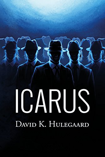 Detective Miller Brinkman soon discovers that his missing persons case is not an isolated incident, but part of an otherworldly mystery — one that may threaten the very future of humanity.  Icarus by David K. Hulegaard