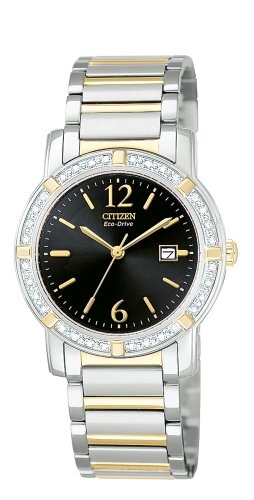 Palidoro Citizen Watch - Citizen Women's EW0904-55E Eco-Drive Palidoro Diamond Watch