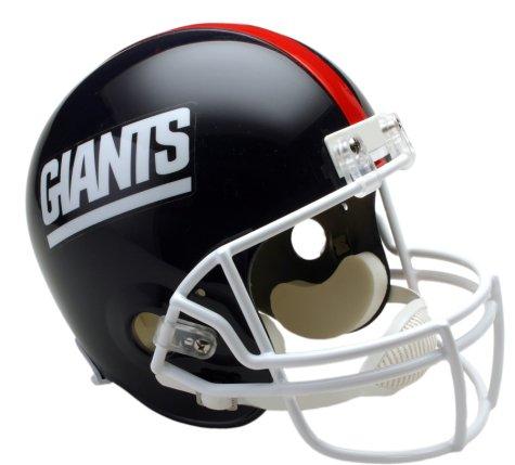 NFL Mini Replica Throwback Helmet - Giants 81-99]()