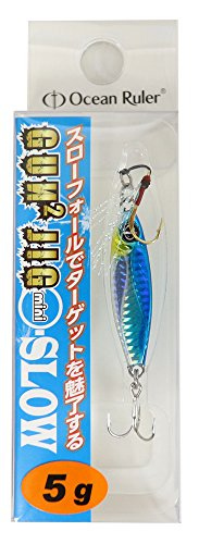 OceanRuler(オーシャンルーラー) メタルジグ ガンガンジグミニ スロー 5g ブルー ルアーの商品画像