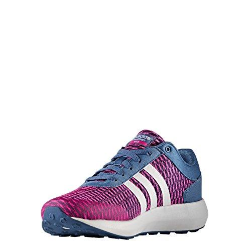 adidas Damen Cloudfoam Race W Sneaker Low Hals Blau (Azubas/Ftwbla/Rosimp) 36 EU