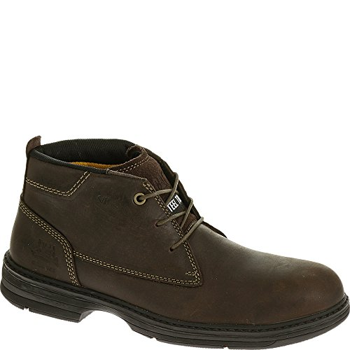 - Caterpillar Men's Inherit Mid Steel Toe Brown Boots 11.5 M