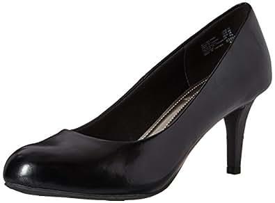 Comfort Plus by Predictions Women's Karmen Pump 5 Wide Black