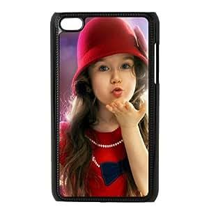 Cute Girl iPod Touch 4 Case Black Uyojz