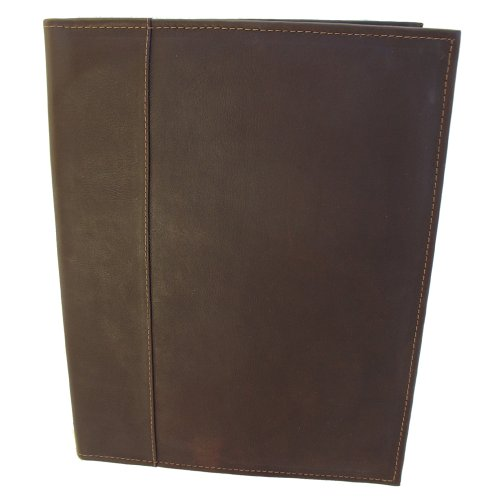piel-leather-letter-size-padfolio-with-organizer-chocolate-one-size