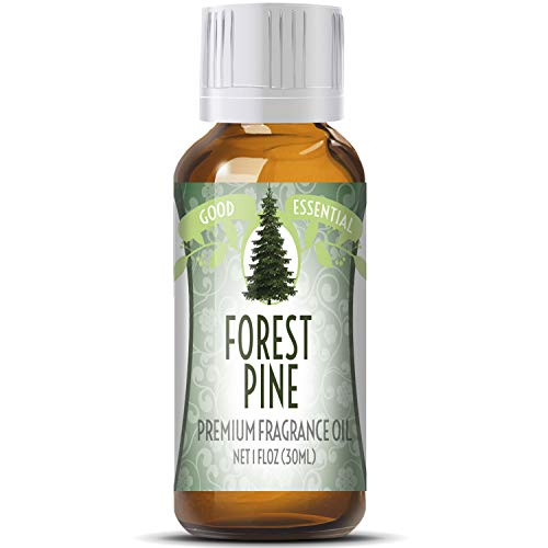 Forest Pine Scented Oil by Good Essential (Huge 1oz Bottle - Premium Grade Fragrance Oil) - Perfect for Aromatherapy, Soaps, Candles, Slime, Lotions, and ()