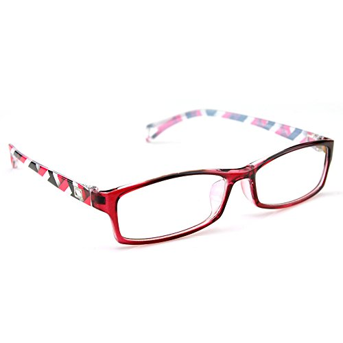 PenSee Fashion Horned Rectangular Glasses product image