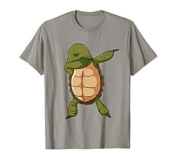 Amazon.com: Tortuga Camisa Funny dabbing DAB Dance de ...