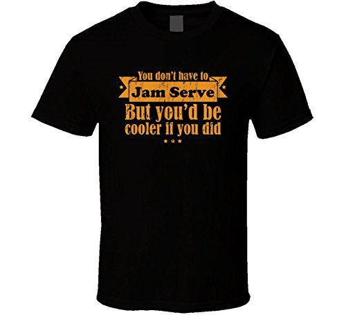 You Don't Jam Suitable But Be Cooler If You Did Racquetball Aged T Shirt 2XL Black