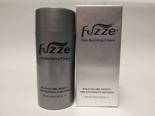 Fuzze Keratin Hair Building Fibers – Dark Brown – 25g/0.88 oz.