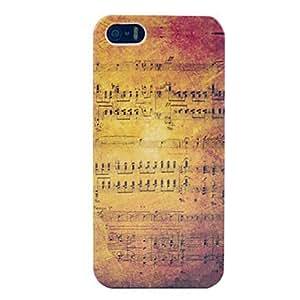 Music Score Hard Plastic Case for iPhone 5/5S