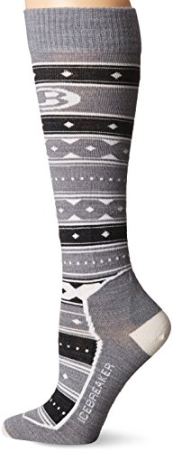 Icebreaker Merino Women's Ski+ Ultra Light Cushion Otc Icon Fairisle Print Socks