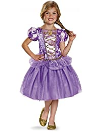 Disguise Rapunzel Classic Disney Princess Tangled Costume, X-Small/3T-4T