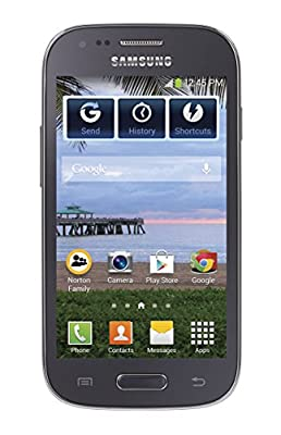 TracFone Galaxy Stardust No Contract Phone - Retail Packaging - Blue
