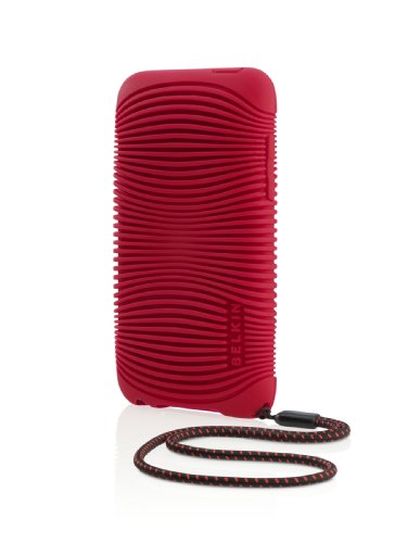 Belkin Ergo Silicone Case with Hand Strap for iPod Touch 2G, 3G (Chili Pepper Red)