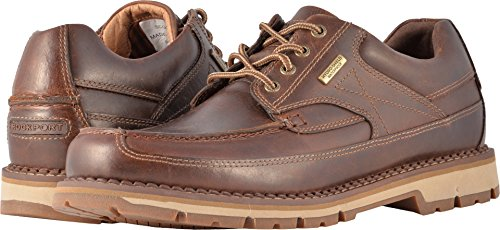 Rockport Mens Centry Moc Toe Brown Oxford - 7 W ()