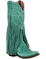 Lane Womens Junk Gypsy by Turquoise Dreamer Boot Snip Toe - Jg0004d