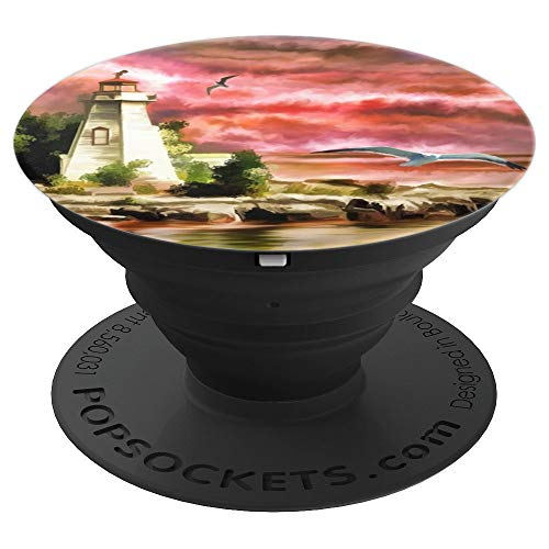 Cape Cod Lighthouse - PopSockets Grip and Stand for Phones and Tablets